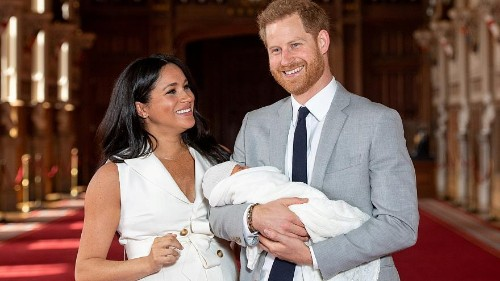 Duke and Duchess of Sussex unveil new photo of Archie for Father's Day