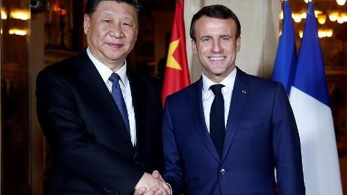Xi diniert mit Macron: Auftakt zu Wirtschaftsgesprächen mit Frankreich