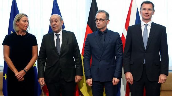 EU foreign ministers meet to discuss Iran nuclear deal amid fears of collapse
