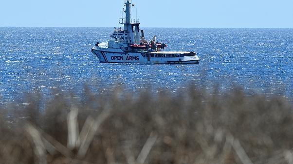 Nächste Station Mallorca für 107 Geflüchtete an Bord der OPEN ARMS?