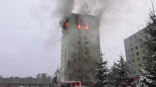 Slowakei: Fünf Tote bei einem Brand in einem Hochhaus