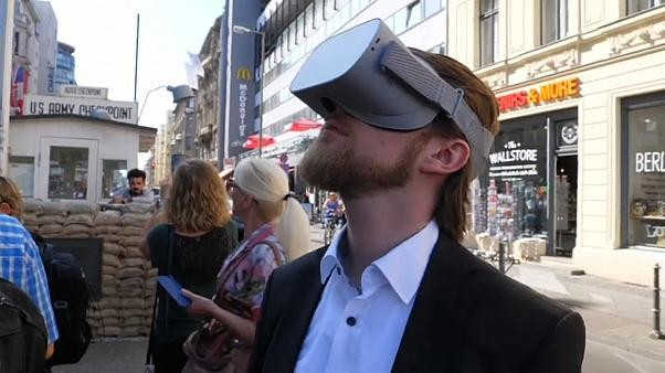 Watch: Visitors step behind the Iron Curtain with VR tour of East Berlin