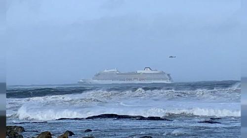 Nave da crociera in avaria al largo della Norvegia