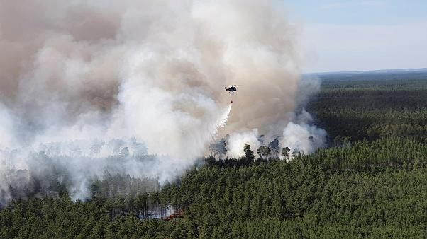 EU hit by 1,381 wildfires so far in 2019 — risk higher in areas with heatwave