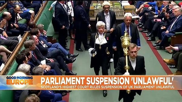 Did UK government mislead Queen Elizabeth II over parliament prorogation?