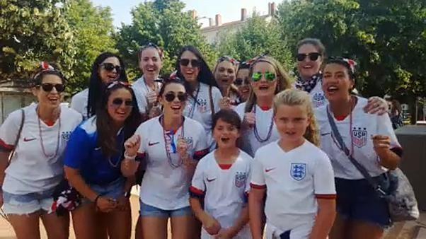 Lione, aspettando la finale dei mondiali di calcio femminili