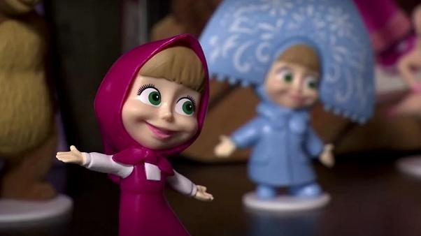 Masha and the Bear: Russian duo clock up 32 billion views on YouTube