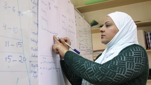 How are mothers in Jordan countering stigma towards children with disabilities?