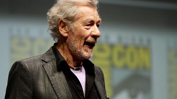Watch: Do you hear the people sing? Ian McKellen joins Les Mis cast in pub singalong