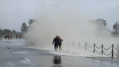 Storm Damage in New Zealand