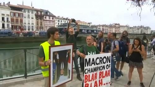 Amazon açıklamalarına rağmen çevreci aktivistlerden Macron'a tepki