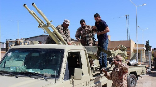 Libya calls for help against rebel offensive