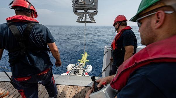 """Nach einem halben Jahrhundert taucht die """"Minverve"""" auf dem Meeresgrund wieder auf"""