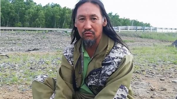 Armed police arrest 'warrior shaman' who wants Putin out of the Kremlin
