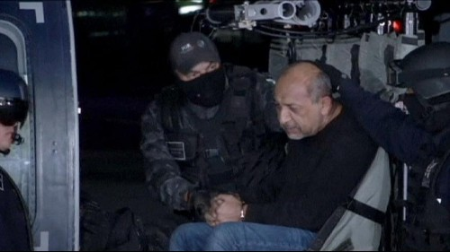 Mexico's most-wanted drug lord 'La Tuta' is arrested