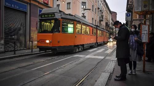 Gespenstische Stimmung an Mailands Uni und in Chinatown