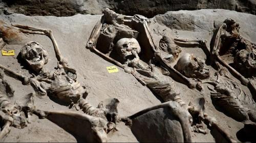 Una ejecución masiva en la Antigua Grecia