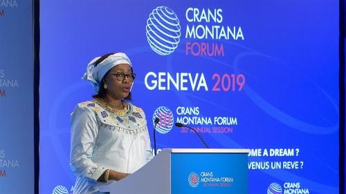 La trentième session annuelle du Forum de Crans Montana s'est tenue à Genève. Au cœur des discussions : encourager la paix par la création d'axes de transport et d'échanges incluant l'est de la Méditerranée et l'Afrique. @CransMontanaF