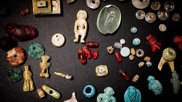 Trove of jewels and charms found at Pompeii give insight into 'female world' of Ancient Rome