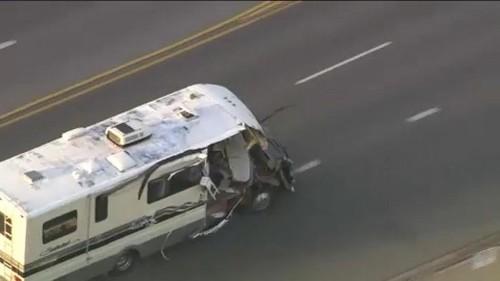 Kalifornien: Polizei liefert sich wilde Verfolgungsjagd mit Wohnmobil