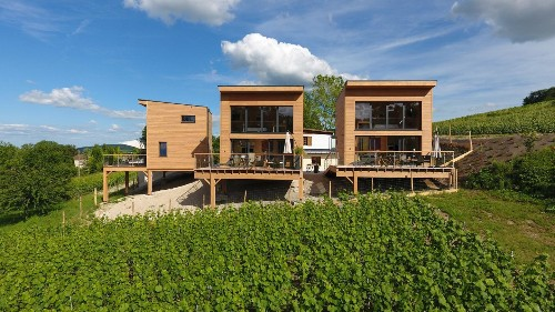 New eco-luxury wooden houses open for booking in France