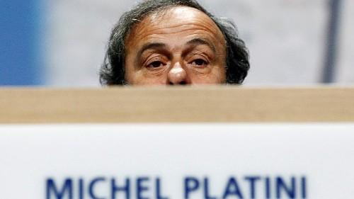 Platini detido para interrogatório sobre Qatar 2022