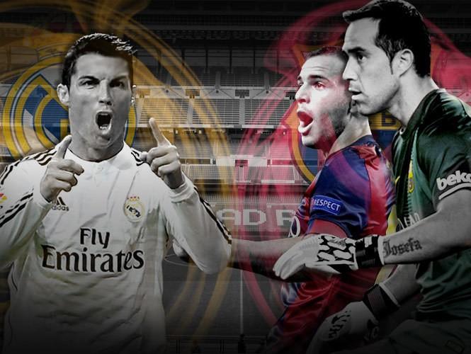 Real Madrid Vs Barcelona - Magazine cover