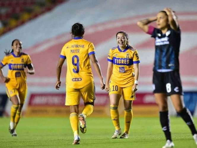 Tigres se acerca a la final de la Liga MX Femenil