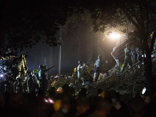La cifra de muertos por sismo asciende a 217
