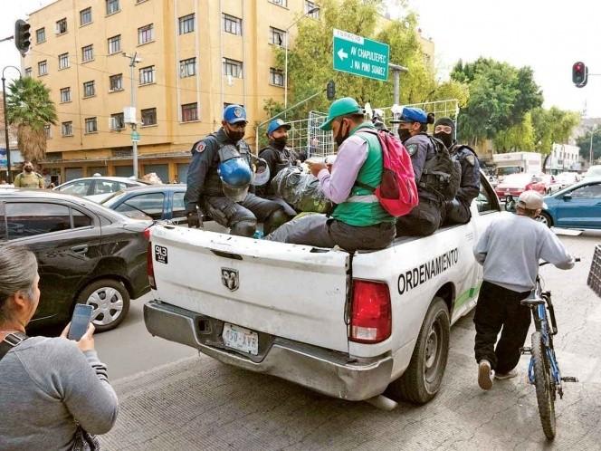 En una semana, 20% más de ambulantes en el Centro Histórico