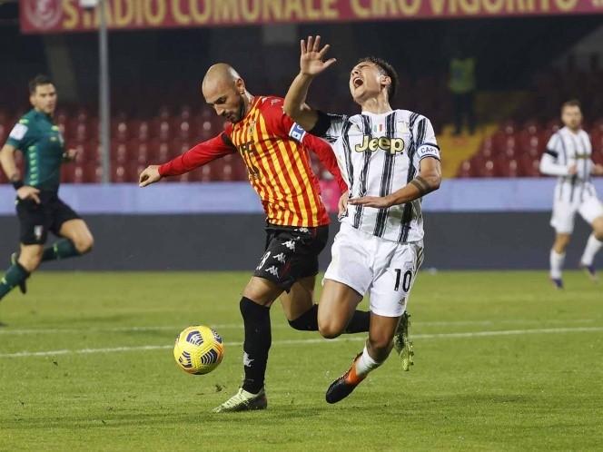 La Juventus no pudo con el Benevento