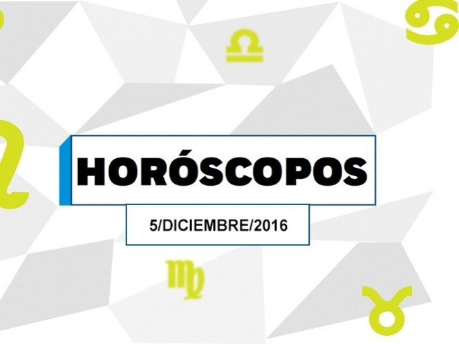 ¿Qué dice tu horóscopo de hoy lunes 5 de diciembre?