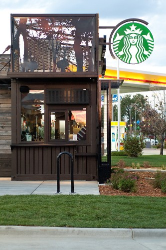 An Experimental New Starbucks Store: Tiny, Portable, And Hyper Local