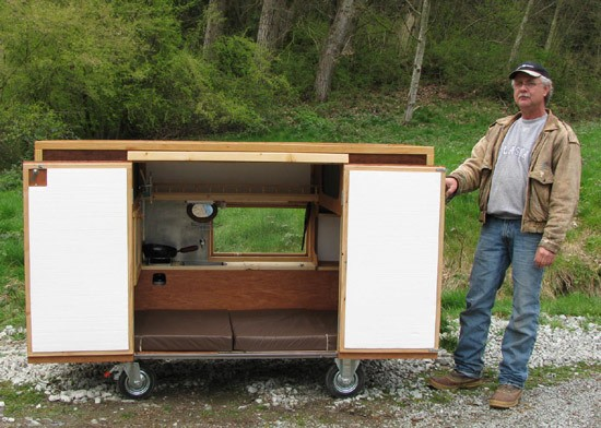 A Mobile Homeless Shelter You Wouldn't Mind Living In