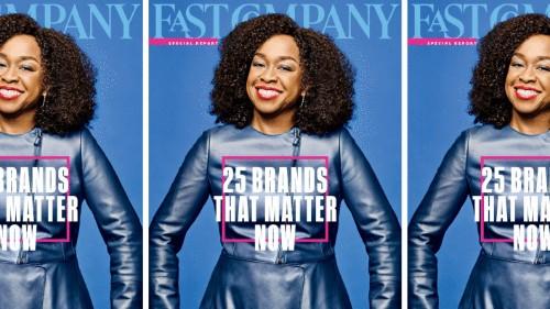 25 Brands That Matter Now