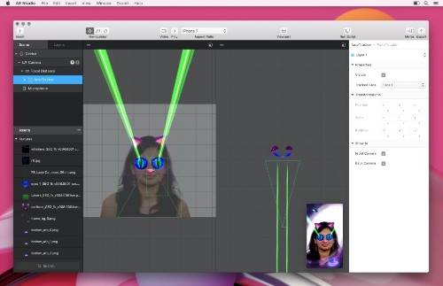 Facebook's AR Studio would like to be the Photoshop of augmented reality