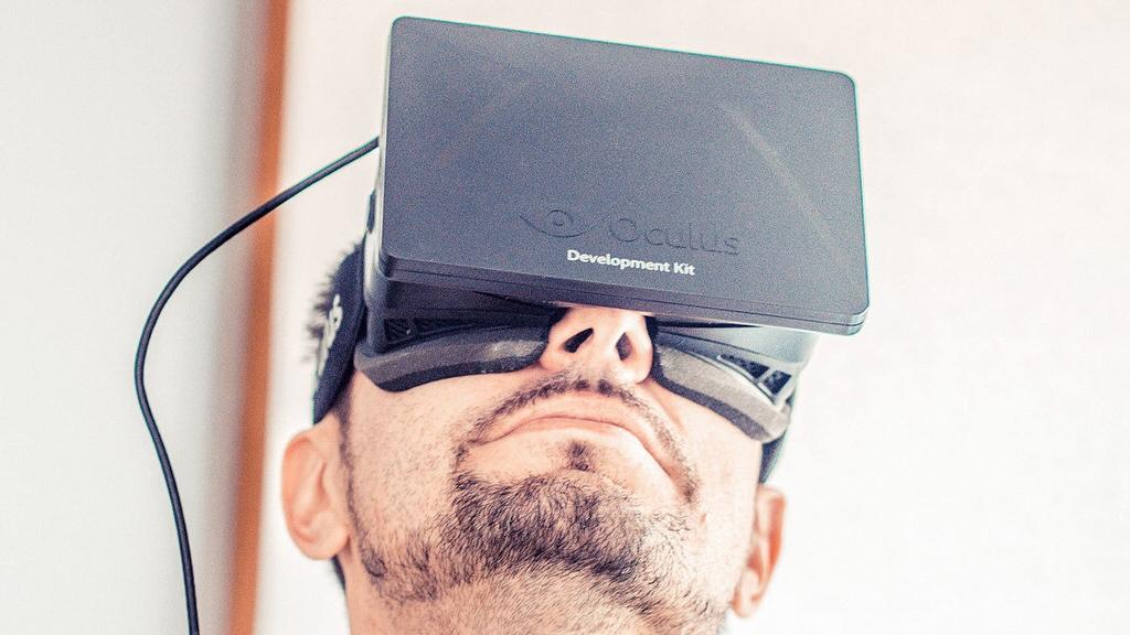 VR - Magazine cover