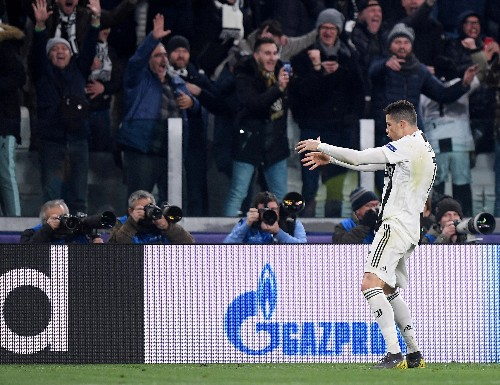 Soccer: Juve's Ronaldo fined by UEFA for Atletico celebration