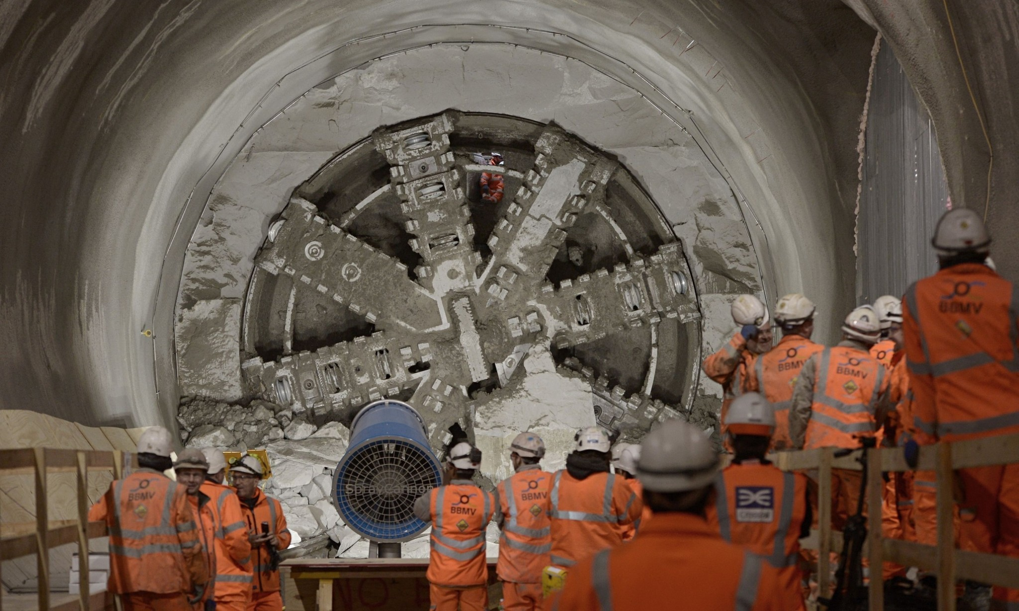 Tunnel vision: London's Crossrail enters its final leg