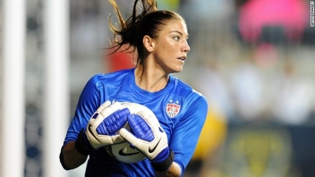 Hope Solo suspended from U.S. Soccer team