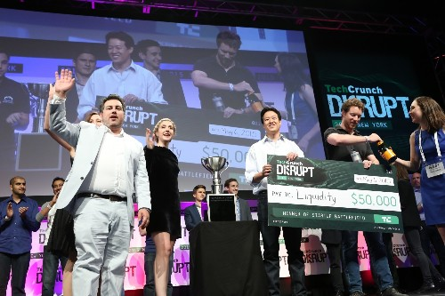 And The Winner Of TechCrunch Disrupt NY 2015 Is… Liquidity