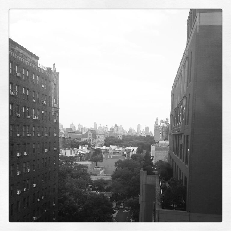 From our room. Central park vew