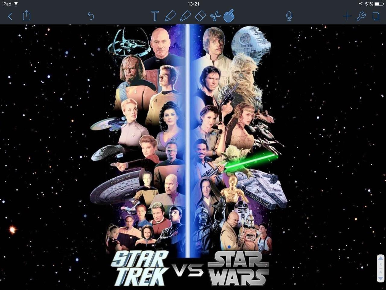 Debate: Star Wars or Star Trek?