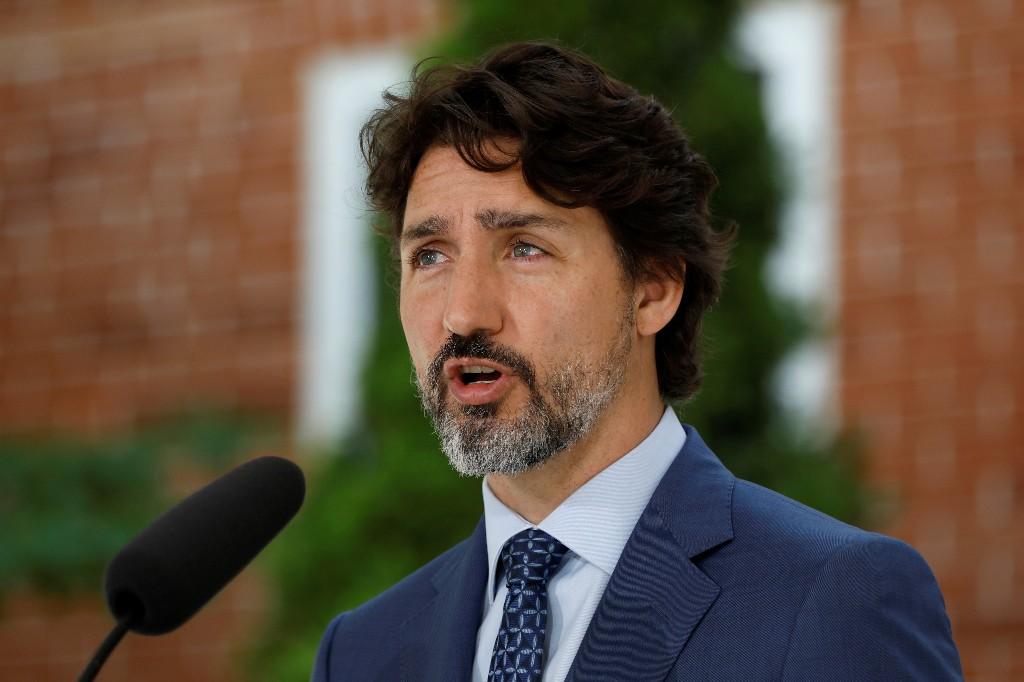 Canada over worst of coronavirus outbreak, U.S. spike a cause for concern: Trudeau