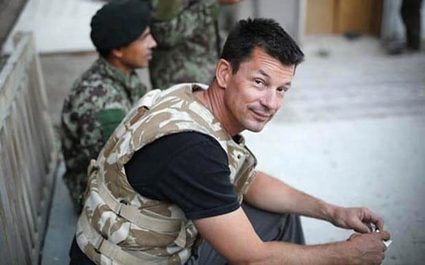 British hostage John Cantlie appears in latest Isil video