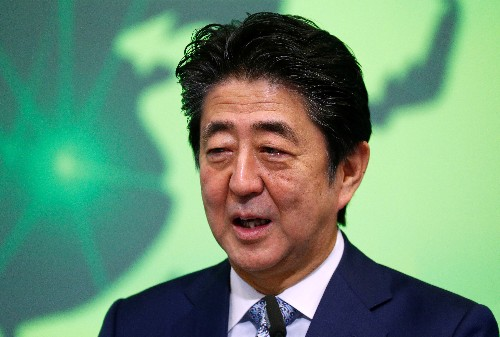 Japanese PM sends offering to war-dead shrine but will not visit: Kyodo