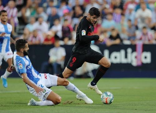 Atletico keep up winning La Liga start at Leganes
