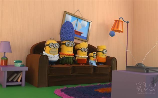 Quem aqui curte os The Simpson's?