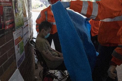 Hong Kong holdout protester: No surrender, no regrets