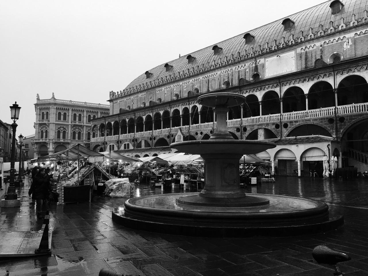 Mercato in Piazza delle Erbe-Padova